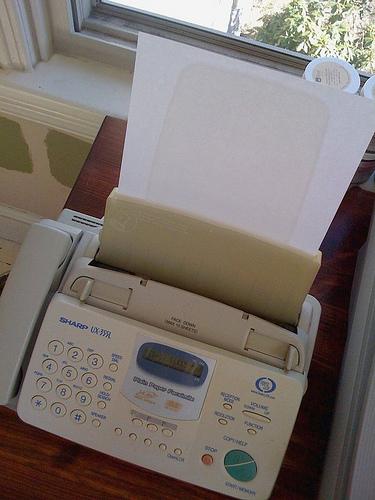 fax machine tech support